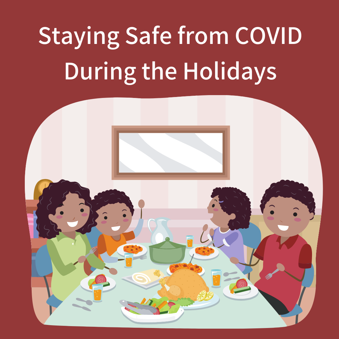 Recommendations for Staying Safe from COVID-19 During the Holidays