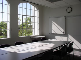 Photo of one of the conference rooms.