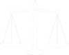 silhouette of legal scales